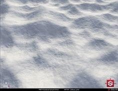 PBR Procedural Snow Material Study, Joshua Lynch on ArtStation at https://www.artstation.com/artwork/8mlNR