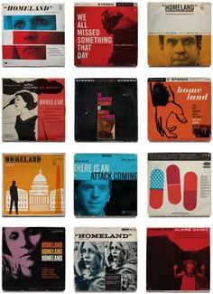 Love these Homeland album covers