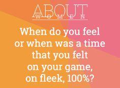 #ABOUTWOMEN #onfleek #fleek #onyourgame