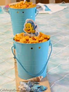 Little Mermaid Party Food, Favors and the Rest of the Sea | Celebrate Every Day With Me