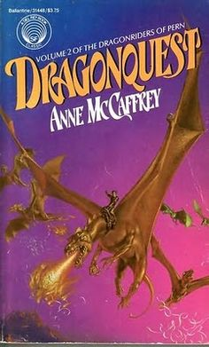 I've been re-reading all the Pern books (not in the proper order; I started with the last 3 and have now cycled back to the beginning) since Anne McCaffrey passed away. Incredible world and characters.