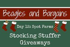 Stocking Stuffer Giveaway Day 12: Spot Farms Artisanal Jerky #sponsored | http://www.beaglesandbargains.com/stocking-stuffer-giveaway-spot-farms-artisanal-jerky/