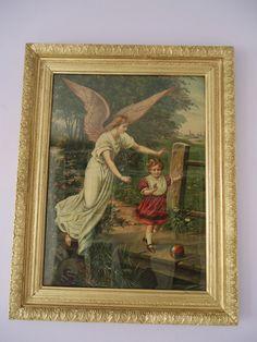 AsiManufaktura: Anioł Stróż ozłocony