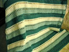 The first blanket I ever made was a simple crocheted afghan made of three shades of green yarn. Right after high school, I spent a summer tr...