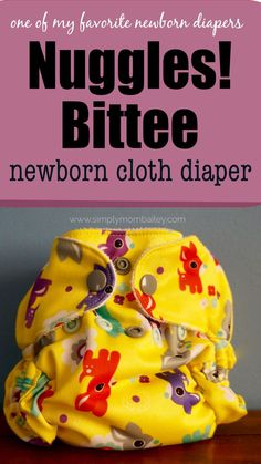 One of the best newborn cloth diapers is the Nuggles Bittee. Cloth Diaper Reviews, Best Cloth Diapers, Weaning Breastfeeding, Diaper Brands, Newborn Diapers, Natural Parenting, Baby Led Weaning, Newborn Outfits, Baby Play