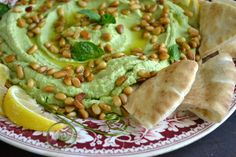 Garden Pea Hummus - The View from Great Island