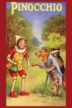 Pinocchio 12x18 Giclee on canvas