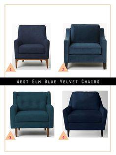 139 Hudson Street | West Elm Chairs