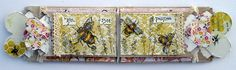 The Bee pasture, Stampendous, My Minds Eye, Mini album, Pocket Tags