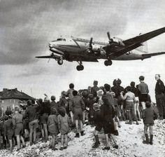 During the Berlin Airlift, the U.S. military delivered supplies to citizens of Soviet-blockaded West Berlin. U.S. Air Force photo