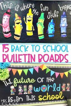 15 Back to School Bulletin Board Ideas You Will Love!