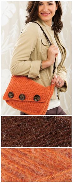 Pumpkin Spice Tote featured in the Autumn issue of Crochet! magazine. Premier Yarns Deborah Norville Alpaca Dance. Order the issue here: https://www.anniescatalog.com/detail.html?prod_id=132292