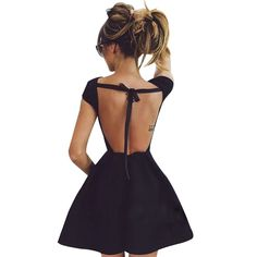 Victorian Backless Party Dress
