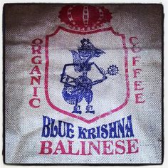 Blue Krishna Balinese organic coffee