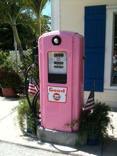 Pink - Gas in Boca Grande