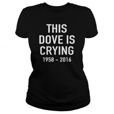 Awesome Tee This Dove Is Crying Shirt; Tee