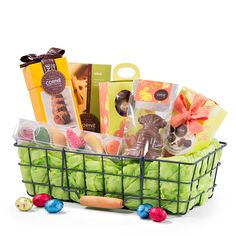 Order a vip gourmet gift basket of godiva easter chocolates for buy corn port royal chocolate easter morning hamper for delivery in germany giftsforeurope is the leading gift provider in europe since negle Image collections