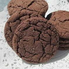 Chocolate Snaps Allrecipes.com