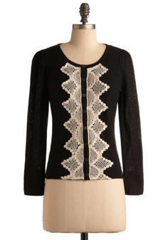 could be too granny, but black and lace is so goooood $41.99