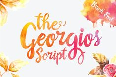 Check out The Georgios (40% Off) by Harder Type Foundry on Creative Market