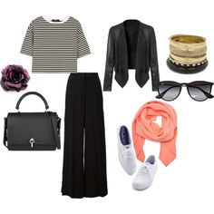 #walktrendy #whiteshoes #stripes #flatform #black #white #contrast  Get your outfit inspiration from us!