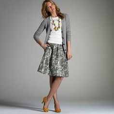Love this look, I would have to pair with ballerina flats!