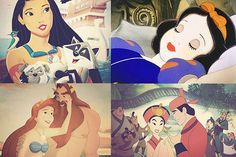 Humor: What if Disney Princesses Shared Photos on Instagram? disney Click to see more...