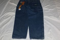 Wrangler carpenter 38x32 mens  blue jean #levis #Carpenter