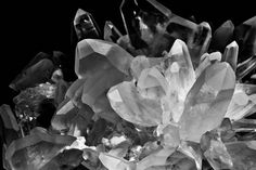 The Magic of Crystals - Black & White by Matteo Kutufa on 500px