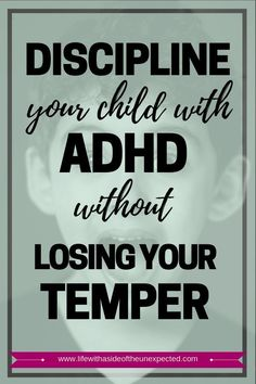 Check out these ADHD Kids Discipline Tips for Parents and Learn How to Discipline Your ADHD Child Without Losing Your Temper. These positive behavior management strategies for ADHD help your children learn self-control while you remain a calm parent. Positive Behavior Management, Behavior Management Strategies, Adhd Strategies, Education Positive, Positive Discipline, Kids Discipline, Classroom Management, Education Quotes, Adhd Odd