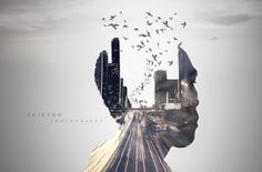 Double Exposure by Triet Do
