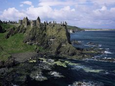 Dunluce Castle, County Antrim, Northern Ireland, United Kingdom