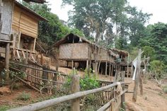 Village in the bush northern from Chiang Mai Chiang Mai, House Styles, Home Decor, Viajes, Decoration Home, Room Decor, Interior Decorating