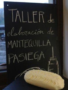 Taller de elaboración de mantequilla #Cantabria #Spain