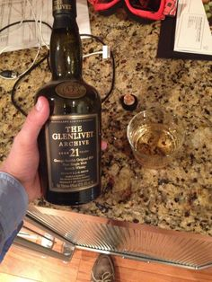 Drinking a single malt that is older than you. TFM.