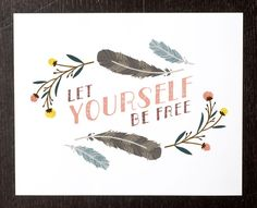 Let yourself be free / Small Talk Studio
