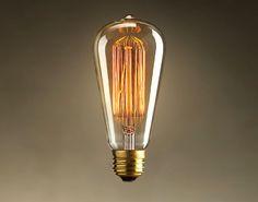 Spedizione gratuita 40w nostalgico retrò edison lampadine, lampada ad incandescenza, fuochi d'artificio e27