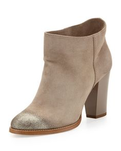 Jimmy Choo Marley Degrade-Glitter Suede Ankle Boot - Neiman Marcus I freaking love these !!!