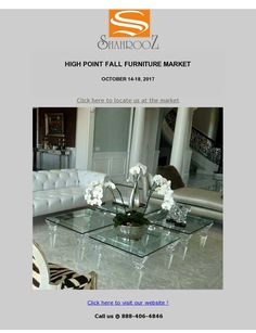 A few days left before we go to the major International Furniture Market of High Point.