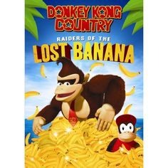 Donkey Kong Country: Raiders of the Lost Banana (dvd_video)
