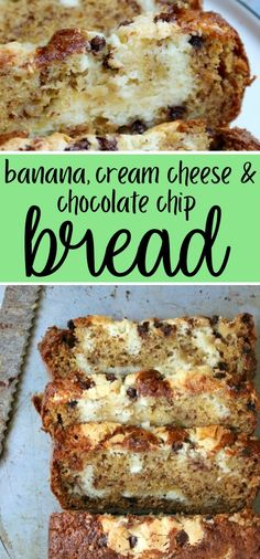Cream Cheese Banana Bread Recipe - Sensibly Sara