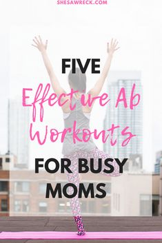5 effective ab workouts for busy moms - get fit this fall with these quick ab workouts that are easy to do Quick Ab Workout, Six Pack Abs Workout, Ab Workout Men, Abs Workout Routines, Ab Workout At Home, Workout For Beginners, At Home Workouts, Workout Ideas, Workout For Moms