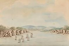 The First Fleet arrives in Botany Bay, 21 January 1788 First Fleet, Botany Bay, Old Cats, New Holland, Australian Art, Historical Pictures, Great Britain, The One, 19th Century