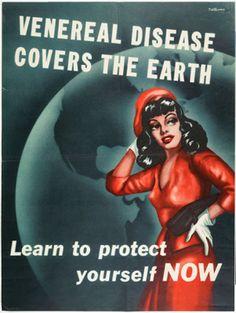 Awesome Vintage STD Propaganda Posters