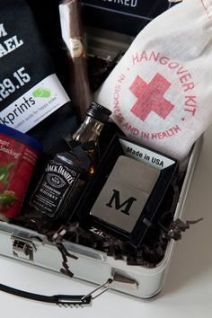 Will You Be My Groomsman? Lunch Box gift idea