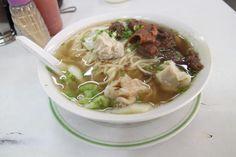 Ling Nam beef and wonton mami
