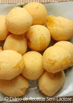 """O Diário de Receitas Sem Lactose: Pão de """"Queijo"""" com Mandioquinha da Alessandra"""