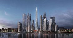 Landmark Tower | by Renzo Piano Building Workshop | Yongsan ( 용산구 ) International Business District, Seoul ( 서울 ), South Korea ( 대한민국 )