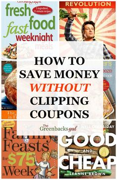 Do you want to save money without clipping coupons? This is the best list of the most useful cookbooks that help you save money on your weekly grocery bill.