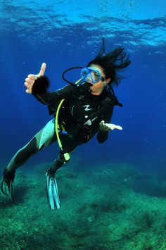 Diving in #Ibiza is fantastic...